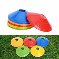 50 pçs/lote 20 centímetros Cones Marcador Discos Futebol Formação Futebol Esportes Pires de Entretenimento Esportes Acessórios