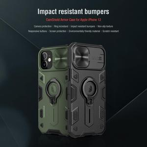 Image 3 - For iPhone 12 11 Pro Max Mini 7 8 SE 2020 Case NILLKIN CamShield Armor Cases for iPhone 11 Pro Max Cover With Ring Kickstand
