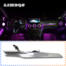 Ambient light above the glove box for w205 Mercedes Benz C Class 2015 2019 in Co pilot dashboard high quality easy installation