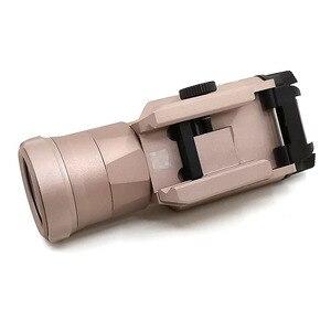 Image 5 - XH35 Waffe licht Taktische Taschenlampe Airsoft Dual Ausgang Ultra Hohe Weiße LED Helligkeit Strobe Fit 20mm Schiene