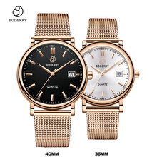 Couple Watches for Lovers Brand Luxury Swiss Quartz Movement Pair Men and Women Stainless Steel Waterproof Fashion Wrist Watch new snake table wholesale fashion jewelry for men and women present binary watch for waterproof led lovers steel band watch