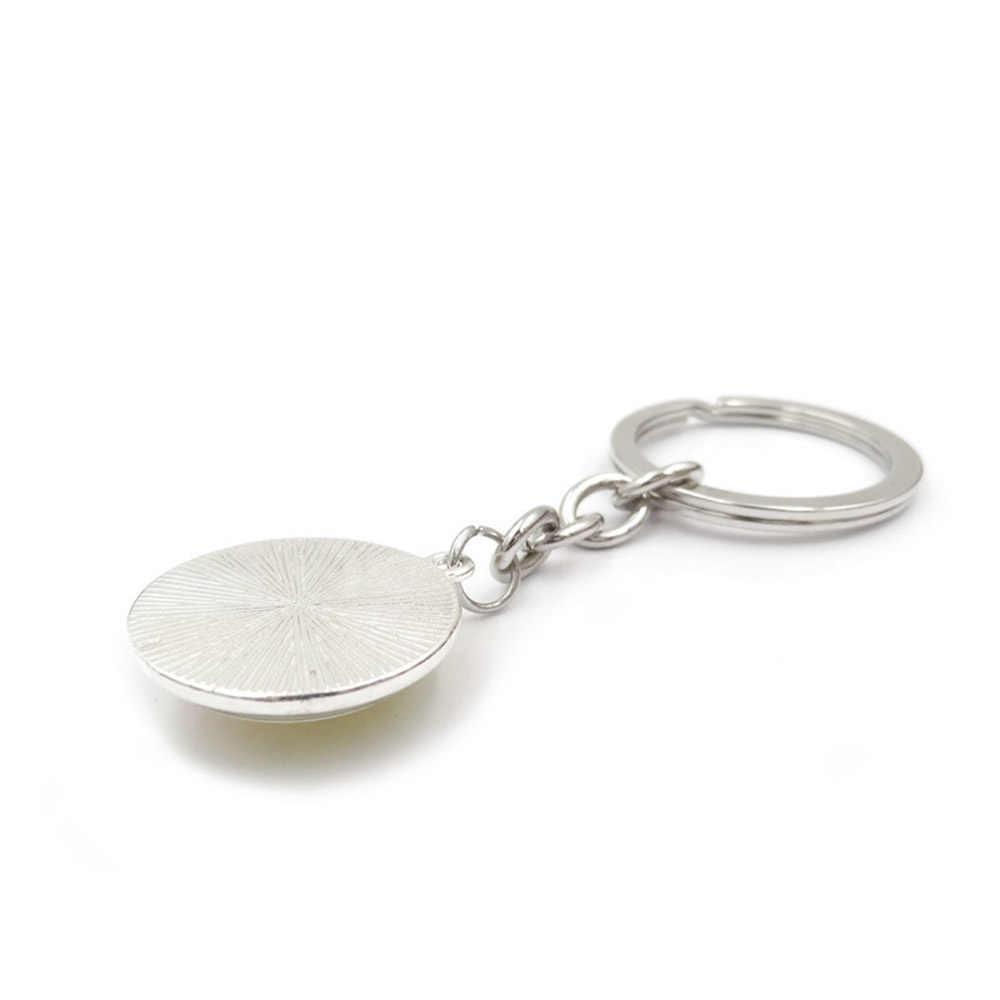 ตัวอักษร Key CHAIN แหวน 26 ภาษาอังกฤษตัวอักษรเริ่มต้นชื่อ Keychains กระเป๋าสตางค์กระเป๋าถือสำหรับผู้หญิงผู้หญิงผู้ชาย