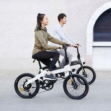 Himo C20 20 Inch Vouwen 80Km Range Power Assist Elektrische Fiets Bromfiets E-Bike 10AH