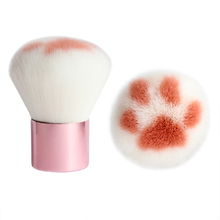 1Pcs Cat Claw Shape Makeup Brushes Man-Made Fiber Hair Birch Handle Beauty Tool Powder brush Kawaii Foundation Brush Tool