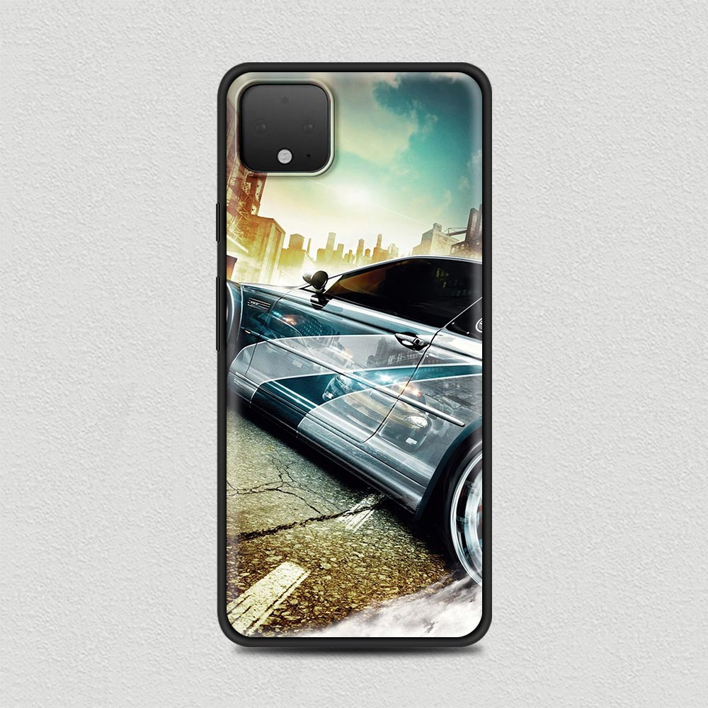 Cool Car Silicone Phone Case For Google Pixel 4 XL 4 4A Cover For Google Pixel 5 4G 5G Soft Black Shell Coque