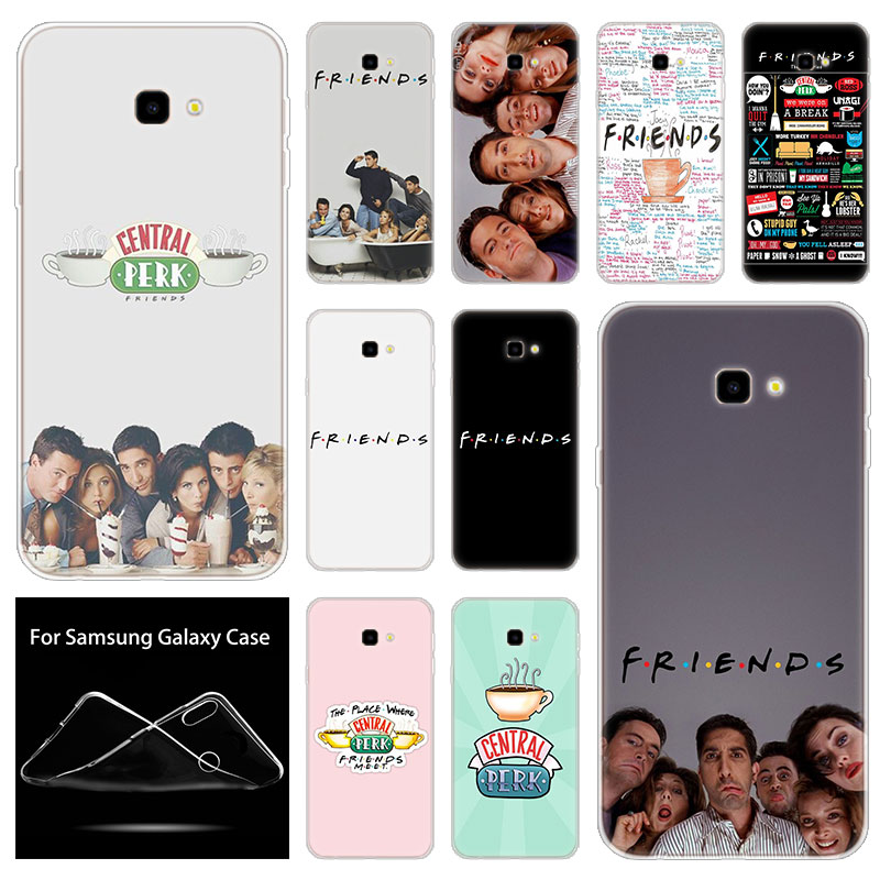 Soft Silicone <font><b>Case</b></font> friends tv show <font><b>For</b></font> <font><b>Samsung</b></font> <font><b>Galaxy</b></font> J8 J6 J4 J2 Pro 2018 Core J6 J7 Prime <font><b>J3</b></font> 2016 J5 <font><b>2017</b></font> EU J4 Plus Cover image