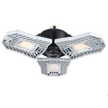 E27 светодиодный деформируемый потолочный светильник, светильник для гаража, высокий люмен, SMD2836, лампа с радиолокационным датчиком, Точечный светильник для домашней парковки, промышленный Декор