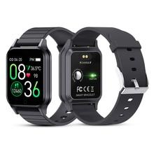 Akıllı saat erkekler kadınlar nabız monitörü kan basıncı spor izci spor Bluetooth Smartwatch Band Android IOS için