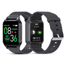 T96 Körper Temperatur Smart Uhr Männer Frauen Herz Rate Monitor Blutdruck Fitness Tracker Bluetooth Smart Für Android IOS