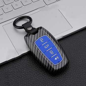 ABS Silica gel Car Key Cover Case for Great Wall Haval Coupe H9 GMW H6 H2 F7 F7X 2019 2020 Smart Remote Key Shell Protect image