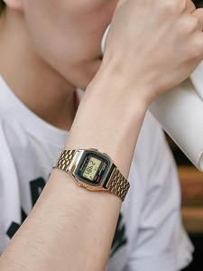 Casio Gold Watch Digital Military Waterproof Brand Luxury Masculino Quartz Men Set LED