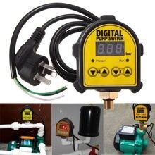 SWILET-bomba de aire Digital automática, interruptor para controlador de presión, compresor de agua y aceite, interruptor Digital, 220V, gran oferta