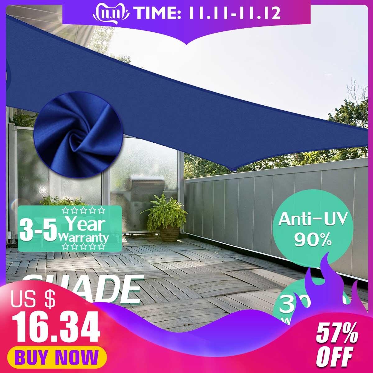 2.5x2.5 3x3 4x4 2x3 2x4 2x5 2.5x3 3x4 3x5 3x6 2x2 300D 2x5 Azul Royal Poliéster tecido oxford retângulo quadrado máscara vela