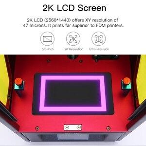 Image 2 - Anycubique Photon résine 3d imprimante UV LED écran tactile ultime tranche vitesse intérieur bureau SLA 3d imprimante impresora 3d Impressora