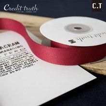 Yao fita espinha de peixe poliéster diy artesanato cetim decorativo com acessórios de vestuário fabricantes vendendo 50 y/volume 9 mm