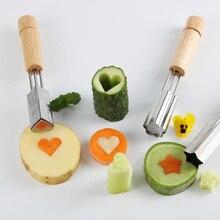 كعكة الكوكيز القاطع زهرة شكل قالب الخضار الجزرة الفاكهة قطع قالب الخيار العجين الخبز أداة المطبخ Food بها بنفسك سكين الغذاء