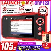 Starten Creader Crp123 OBD 2 diagnose werkzeug Für ABS/SRS/Getriebe/Motor System OBD2 Code Reader Einführung crp123 PK NT650 Creade 8
