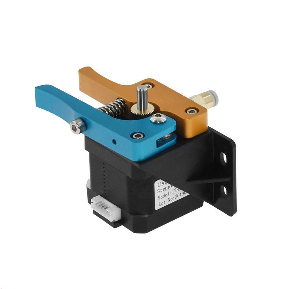 Extrusora de metal mk8 completa, kit de extrusora para impressora 3d em alumínio com filamento de 1.75mm peças