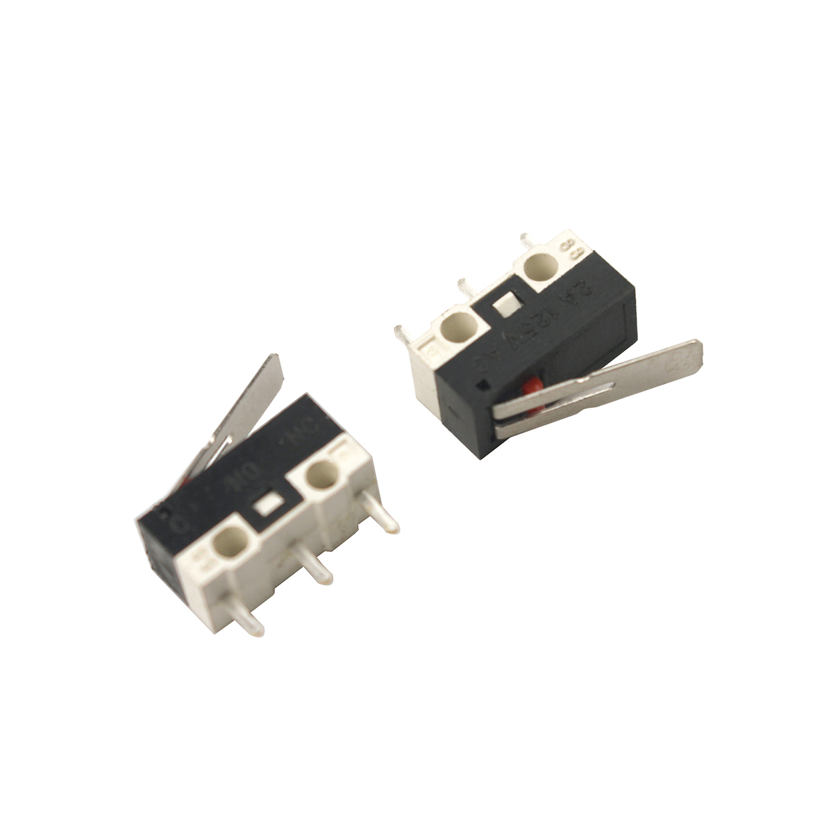 5 x 29mm Lever V4 Miniature Microswitch SPDT 5A Micro Switch