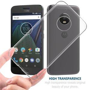 Для Motorola One Vision чехол прозрачный мягкий ТПУ задняя крышка для Moto G8 G7 power G6 Plus G5 G5s P40 P30 Note Z4 Z3 Play E5 E4 X4 C Z