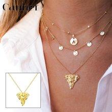 Автоклав 925 Стерлинговое Серебро Золото Цвет ожерелье Классический