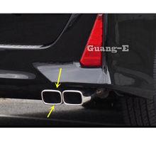 Capa do carro silenciador traseiro back end tubo dedicar ponta de escape saída cauda para toyota noah voxy 80 series 2014 2015 2016 2017 2018