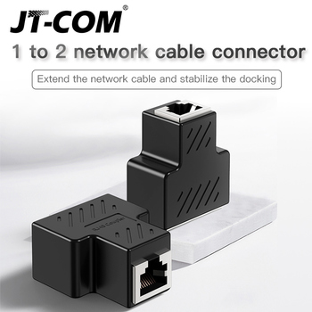 RJ45 Connector Female To Female Cat7/6/5e Ethernet Adapter LAN 8P8C Network Extender Ectension Cable Splitter Transfer Head right angled 90 degree 8p8c ftp stp utp cat 5e male to female lan ethernet network extension adapter
