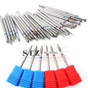 1pcs Nail Milling Cutter Diamond Nail Drill Bits For Manicure Machine Electric Cuticle Files Burr Pedicure Drill Tools TR01-29-1