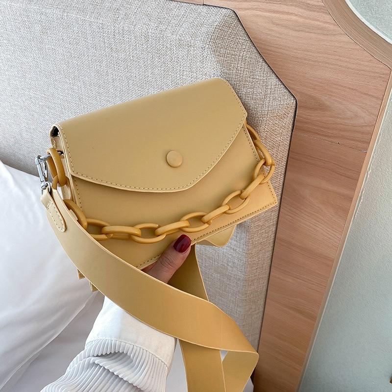RanHuang Новое поступление 2020 женские модные Лоскутные маленькие Сумки из искусственной кожи дизайнерские сумки на плечо для девочек белые сумки через плечо A1799|Сумки с ручками|   | АлиЭкспресс - Аналоги сумок с показов мод осень-зима 2020/21