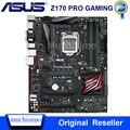 Asus Z170 PRO игровая настольная материнская плата Z170 Socket LGA 1151 для Core i7 i5 i3 DDR4 64G USB3.0 M.2 ATX оригинальная б/у материнская плата