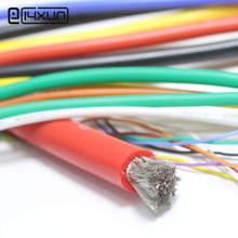 4 6 7 8 10, 11, 12, 13, 14, 15, 16, 17, 18, 20, 22, 24, 26 28 30 AWG силиконовый провод ультра гибкий Тесты линия кабель высокого Температура
