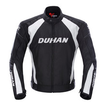 DUHAN Motorcycle Jacket Autumn Winter Men's Motorbike Moto Jacket Windproof Cold-proof Protective Gear Motocross Jacket Clothing