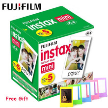 Fujifilm Instax فيلم صغير 3 بوصة حافة بيضاء ورق طباعة الصور ل بولارويد فوجي Instax Mini LiPlay Mini 9 8 7s 25 70 90 كاميرا فورية