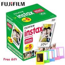 Fujifilm Instax Mini Film 3 Cal biała krawędź papier fotograficzny do Polaroid FUJI Instax Mini LiPlay Mini 9 8 7s 25 70 90 aparat natychmiastowy