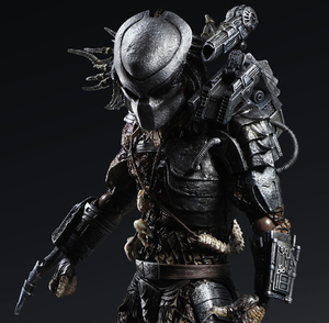 PLAY ARTS Predator P1 Movie Character Action Figure Model Toys 27cm