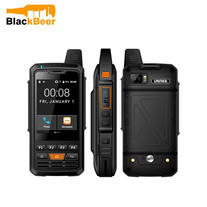 Фото. UNIWA Alps F50 2G/3g/4G Zello Walkie Talkie Android смартфон четырехъядерный мобильный телефон MTK67