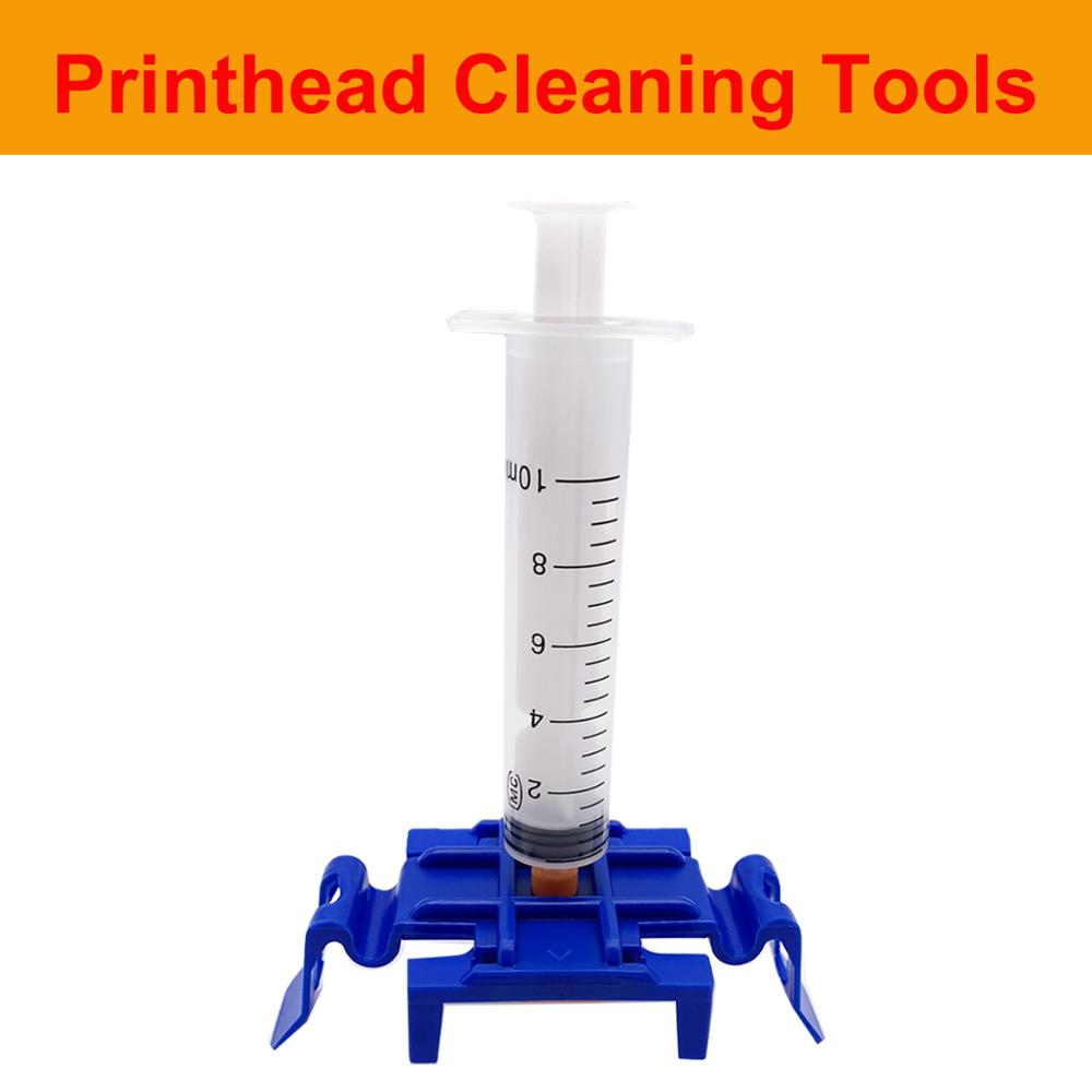Print Head Cleaning Tools Cover <font><b>For</b></font> <font><b>HP</b></font> <font><b>8100</b></font> 8600 Plus 8610 8620 8630 8640 T520 T120950 951 952 953 954 955 711 Nozzle <font><b>Printhead</b></font> image