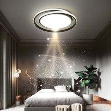 Lustres de led moderno para o quarto sala jantar cozinha minimalista redondo preto lâmpada do teto casa criatividade luminárias