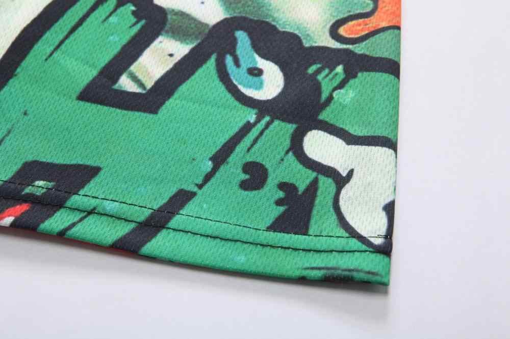 D15 skull tee shirt horror camisetas ricka y morty camiseta punisher pokemon camisa extraño cosas camisa