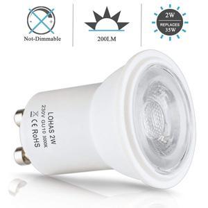 Image 3 - Светодиодсветильник лампа GU10 SMD 3000/6000K, 2 Вт, 35 Вт