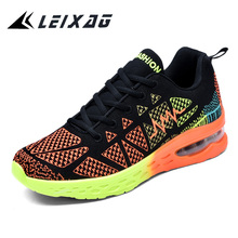 LEIXAG Men and Women Cushioning Running Shoes
