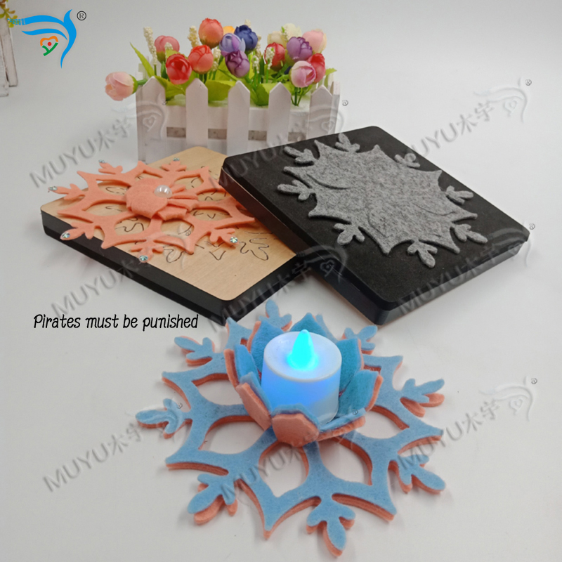 Candle Holder MuYu Cutting Die-- New Wooden Die  Cutting For Scrapbooking MY2931