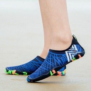 Sneakers Men Women Barefoot Beach Water Shoes Lovers Outdoor Fishing Swimming Bicycle Quick-Drying Aqua Shoes Zapatos De Mujer
