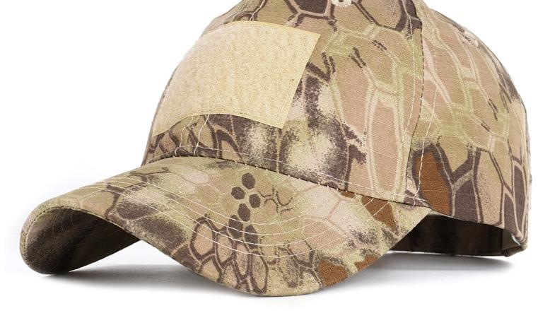 17 Colors Camo Men's gorras Baseball Cap Male Bone Masculino Dad Hat Trucker New Tactical Men's Cap Camouflage Snapback Hat 2020 18