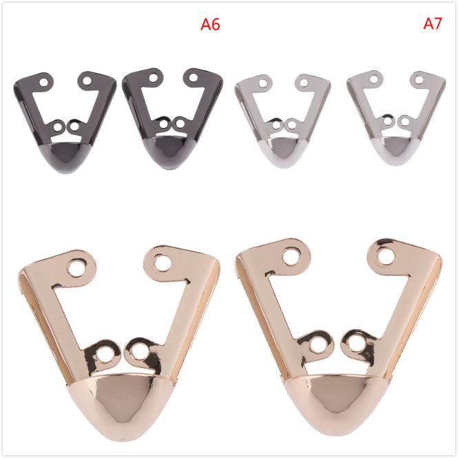 1 Pair Shoes Toe Protection Metal Shoes Clips Shoe Decoration Reapair Accessory
