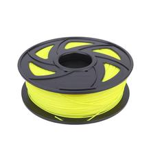 WINOMO 1 Pc Professional 1.75mm PLA Silk 3D Printer Filament (Yellow/Gold/Black/Grey/Red/Green/Blue/White/Purple/Wood Color)