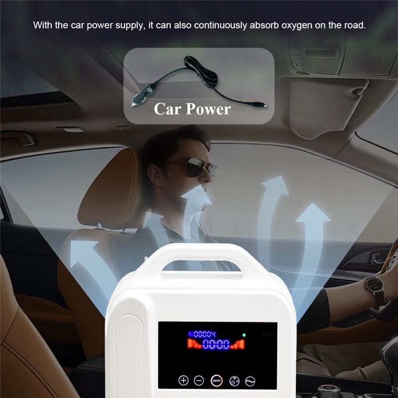 Concentrateur d'oxygène Portable O2 générateurs purificateur d'air ventilateur sommeil MINI Machine à oxygène pour la maison - 4