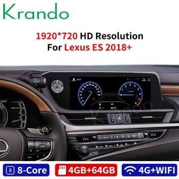 Krando Android 8.1 10.25'' car radio gps navigation for Lexus ES 2018+ multimedia system player