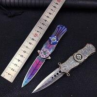 Cuchillo EDC plegable para supervivencia, herramienta de supervivencia de campo portátil, alta dureza