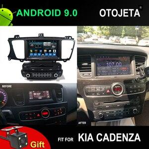 OTOJETA 4G lte Восьмиядерный автомобильный радиоприемник Android 9,1 плеер для KIA Cadenza Автомобильный gps мультимедиа головное устройство аудио стерео в...
